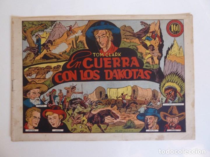 TOM CLARK Nº 4 GUERRA CON LOS DAKOTAS, GRAFIDEA 1945 (Tebeos y Comics - Grafidea - Otros)