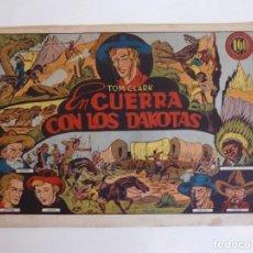 Tebeos: TOM CLARK Nº 4 GUERRA CON LOS DAKOTAS, GRAFIDEA 1945. Lote 274804518