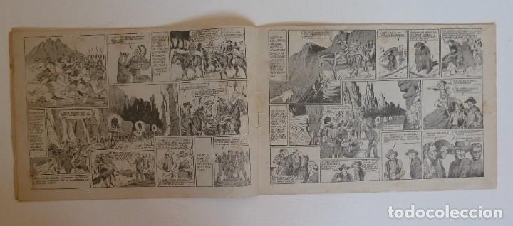 Tebeos: TOM CLARK Nº 4 GUERRA CON LOS DAKOTAS, GRAFIDEA 1945 - Foto 3 - 274804518