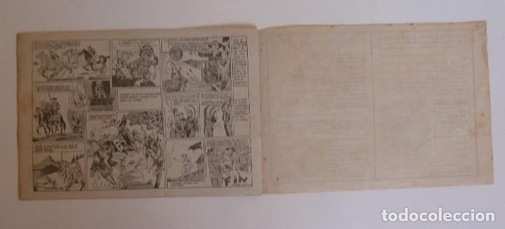 Tebeos: TOM CLARK Nº 4 GUERRA CON LOS DAKOTAS, GRAFIDEA 1945 - Foto 4 - 274804518