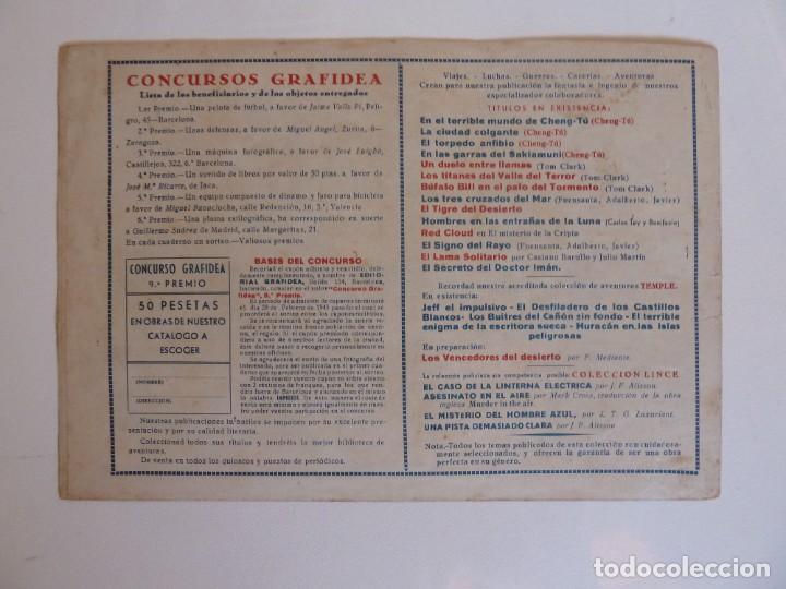 Tebeos: TOM CLARK Nº 4 GUERRA CON LOS DAKOTAS, GRAFIDEA 1945 - Foto 5 - 274804518