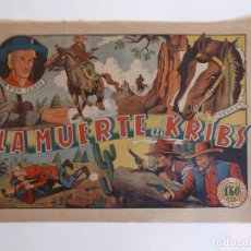 Tebeos: TOM CLARK Nº 9 LA MUERTE DE KRIBS, GRAFIDEA 1945. Lote 274805063