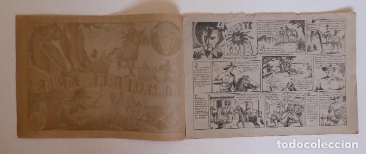 Tebeos: TOM CLARK Nº 9 LA MUERTE DE KRIBS, GRAFIDEA 1945 - Foto 2 - 274805063