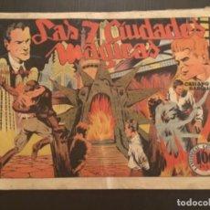 Giornalini: COMIC EDITORIAL GRAFIDEA ORIGINAL CASIANO BARULLO JULIO MARTIN LAS 7 CIUDADES MAGICAS. Lote 284408878
