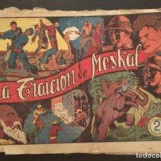 Tebeos: COMIC EDITORIAL GRAFIDEA ORIGINAL CASIANO BARULLO JULIO MARTIN LA TRAICION DE MESKAL NÚMERO 2. Lote 284409448
