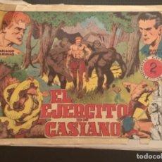 Tebeos: COMIC EDITORIAL GRAFIDEA ORIGINAL CASIANO BARULLO JULIO MARTIN EL EJÉRCITO DE CASIANO. Lote 284409973