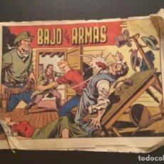 Tebeos: COMIC EDITORIAL GRAFIDEA ORIGINAL CHISPITA 6 AVENTURA BAJO LAS ARMAS NÚMERO 9. Lote 284410778