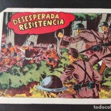 Tebeos: TEBEO- DESESPERADA RESISTENCIA- EDITORIAL GRAFIDEA. Lote 287690223