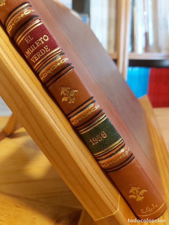 Tebeos: * El Amuleto Verde * Ed.Grafidea 1956 * Colección Completa son 24 Tebeos Originales * Piel de Lujo * - Foto 2 - 288032983