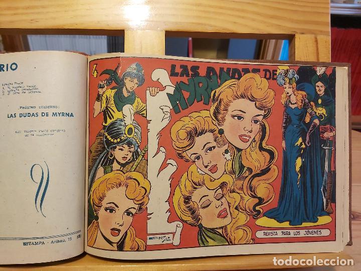 Tebeos: * El Amuleto Verde * Ed.Grafidea 1956 * Colección Completa son 24 Tebeos Originales * Piel de Lujo * - Foto 8 - 288032983