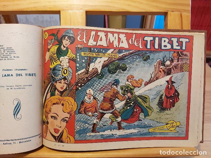 Tebeos: * El Amuleto Verde * Ed.Grafidea 1956 * Colección Completa son 24 Tebeos Originales * Piel de Lujo * - Foto 9 - 288032983