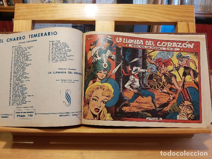 Tebeos: * El Amuleto Verde * Ed.Grafidea 1956 * Colección Completa son 24 Tebeos Originales * Piel de Lujo * - Foto 11 - 288032983