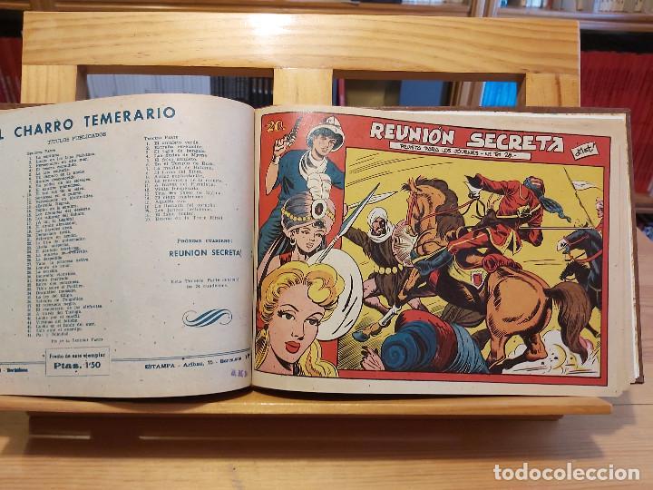 Tebeos: * El Amuleto Verde * Ed.Grafidea 1956 * Colección Completa son 24 Tebeos Originales * Piel de Lujo * - Foto 12 - 288032983