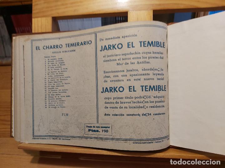 Tebeos: * El Amuleto Verde * Ed.Grafidea 1956 * Colección Completa son 24 Tebeos Originales * Piel de Lujo * - Foto 14 - 288032983