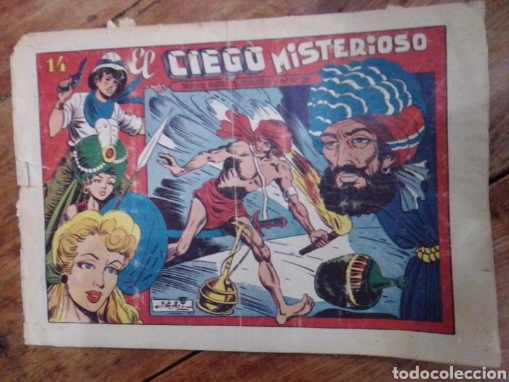 EL CHARRO TEMERARIO N° 14 EL CIEGO MISTERIOSO (Tebeos y Comics - Grafidea - El Charro Temerario)