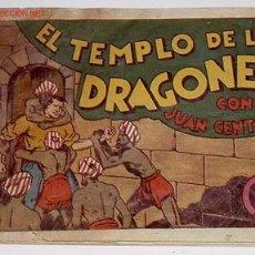 Tebeos: EL TEMPLO DE LOS DRAGONES CON JUAN CENTELLA - HISPANO AMERICANA DE EDICIONES S.A.. Lote 840603