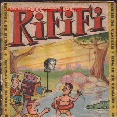 Tebeos: RIFIFI Nº 4 - ORIGINAL H.A. 1961 - IMPORTANTE LEER TODO. Lote 22322546