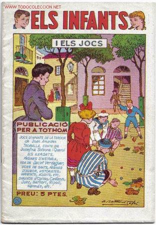 1067. TEBEO ELS INFANTS DE H.AMERICANA (Tebeos y Comics - Hispano Americana - Otros)