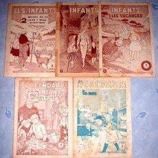 Tebeos: 1069. 5 TEBEOS ELS INFANTS DE H.AMERICANA. Lote 8670648