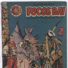 Tebeos: PECOS BILL Nº 12 PRECIOSA PORTADA, EDI. HISPANO AMERICANA 1952. Lote 7300972