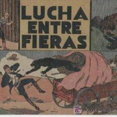 Tebeos: JORGE Y FERNANDO, 60 CTMS. ORIGINAL - LUCHA ENTRE FIERAS,. Lote 18954893