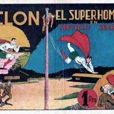 Tebeos: SERVICIIO SECRETO COLECCION CICLON (SUPERMAN). Lote 4120605