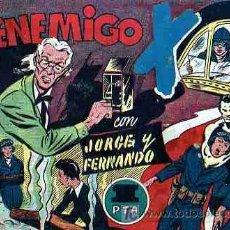 Tebeos: JORGE Y FERNANDO Nº72. Lote 4121264