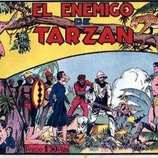 Tebeos: TARZAN Nº 14 EL ENEMIGO DE TARZAN. Lote 4148144