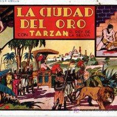 Tebeos: TARZAN Nº 6 LA CIUDAD DEL ORO. Lote 4148894