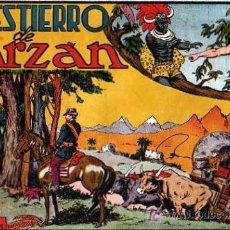 Tebeos: TARZAN Nº 10 EL DESTIERRO DE TARZAN. Lote 4148902