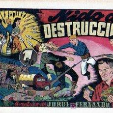 Tebeos: JORGE Y FERNANDO Nº56 NIDO DE DESTRUCCION. Lote 4148912