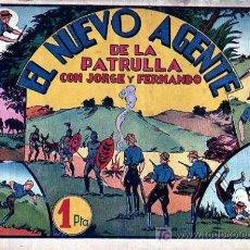 Tebeos: JORGE Y FERNANDO Nº 29 EL NUEVO AGENTE DE LA PATRULLA. Lote 4148929