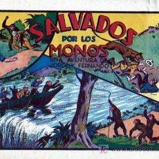 Tebeos: JORGE Y FERNANDO Nº 33 SALVADOS POR LOS MONOS. Lote 4148977
