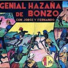 Tebeos: JORGE Y FERNANDO Nº 35 UNA GENIAL HAZAÑA DE BONZO. Lote 4149006