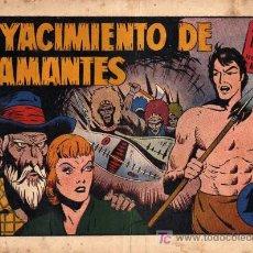 Tebeos: TARZAN Nº 16 EL YACIMIENTO DE DIAMANTES. Lote 4214489