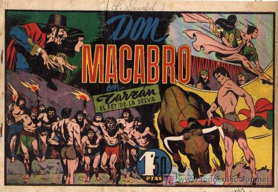 TARZAN Nº 24 DON MACABRO (Tebeos y Comics - Hispano Americana - Tarzán)