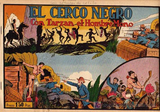 TARZAN Nº 11 EL CERCO NEGRO (Tebeos y Comics - Hispano Americana - Tarzán)