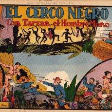 Tebeos: TARZAN Nº 11 EL CERCO NEGRO. Lote 4214568