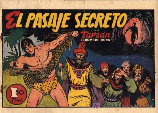 TARZAN Nº18 EL PASAJE SECRETO (Tebeos y Comics - Hispano Americana - Tarzán)