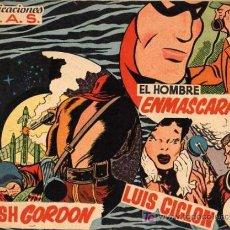 Tebeos: COLECCION MAS (FLASH GORDON, LUIS CICLON, EL HOMBRE ENMASCARADO) Nº 11. Lote 4285555