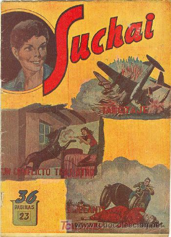 SUCHAI ALBUM Nº 23 (Tebeos y Comics - Hispano Americana - Suchai)