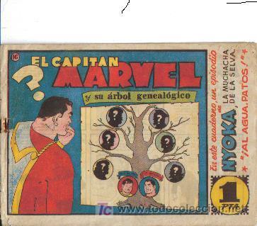 EL CAPITAN MARVEL ((HISPANO AMERICANA DE EDICIONES) OGINALES 1947 LOTE (Tebeos y Comics - Hispano Americana - Capitán Marvel)