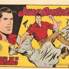 Tebeos: JUAN CENTELLA Nº 5 1955, LA MAS DIFICIL DE VER, BUENESTADO. Lote 10205830