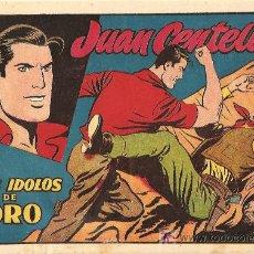 Tebeos: JUAN CENTELLA Nº 6 DE 1955 MUY RARO Y DIFICIL, Y ESCELENTE ESTADO. Lote 10165908