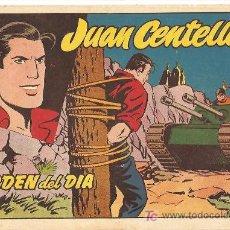 Tebeos: JUAN CENTELLA Nº 20 1955, LA MAS DIFICIL DE VER, BUENESTADO. Lote 10165916