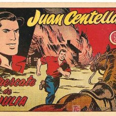 Tebeos: JUAN CENTELLA Nº 35 1955, LA MAS DIFICIL DE VER, +++. Lote 9916867