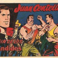 Tebeos: JUAN CENTELLA ,36 Y ULTIMO DE 1955, EL INENCONTRABLE, UN LUJO. Lote 22752854