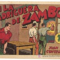 Tebeos: JUAN CENTELA 1940, EN LA MADRIGUERA DE ZAMBO, MUY BUENO, HISPANO AMERICANA, C.COSSIO. Lote 10015169