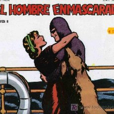 Tebeos: ALBUM RUSTICO EDICIONES B.O. EL HOMBRE ENMASCARADO RAY MOORE VOLUMEN Nº2. Lote 4818216