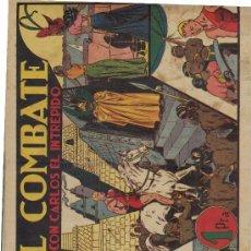 Tebeos: (COM-338)COMIC CARLOS EL INTREPIDO-EL COMBATE. Lote 4943964
